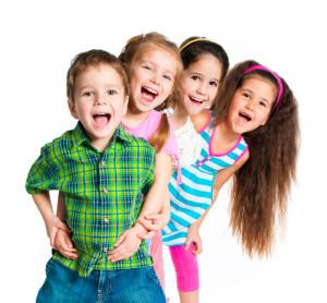 happy children smiling - pos ed1